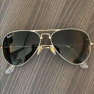 Classic Foldable Ray Ban Aviator Sunglasses